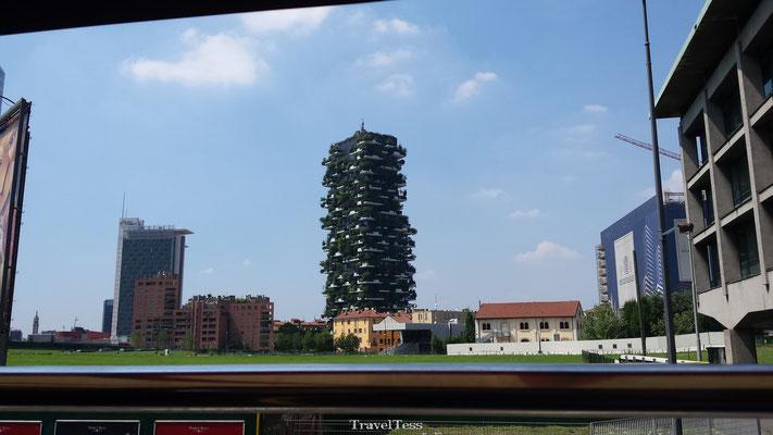 Groene flat in Milaan
