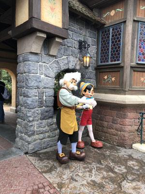 Pinokio Disneyland Parijs
