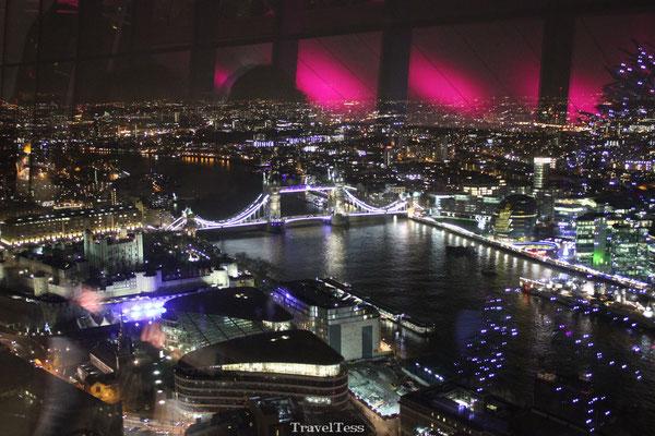 Uitzicht vanaf London Sky Garden