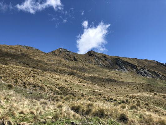 Steile hellingen van Roys Peak