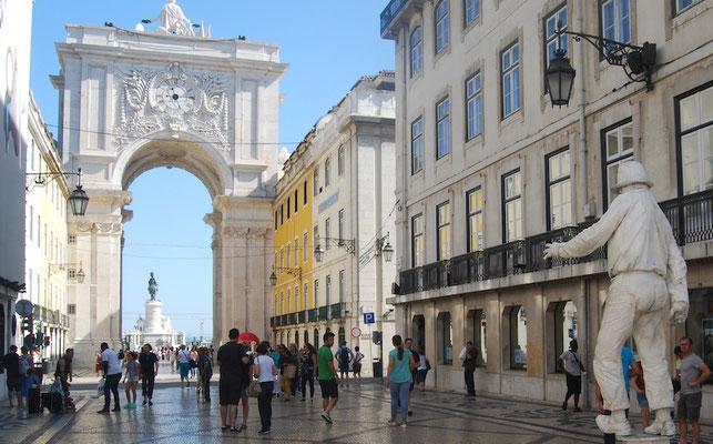 Rua Augusta Lissabon
