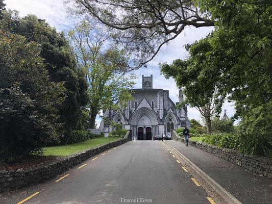 Kerkje in Nelson (Onderweg naar Abel Tasman Park)