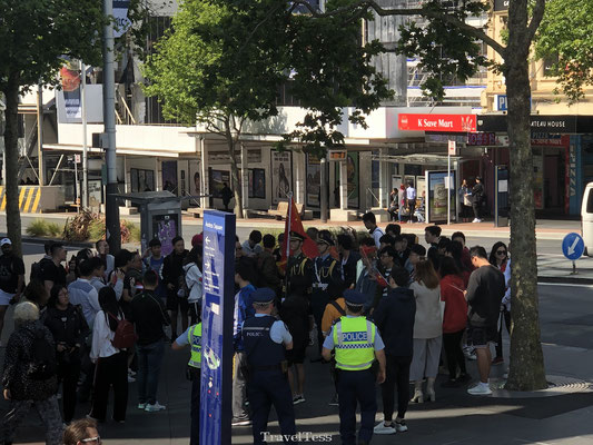 Hong Kong demonstratie in Auckland