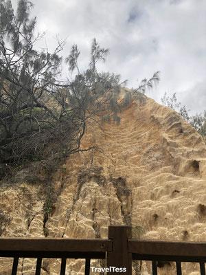 Coloured Sands Fraser Island