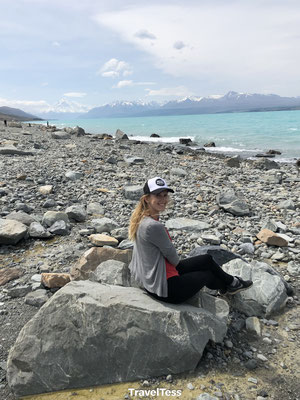 Kiezelstrand Lake Pukaki