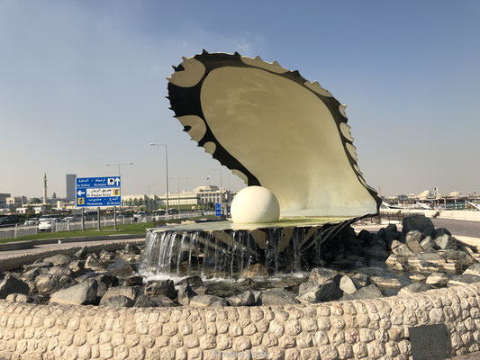 The Pearl Monument in Qatar