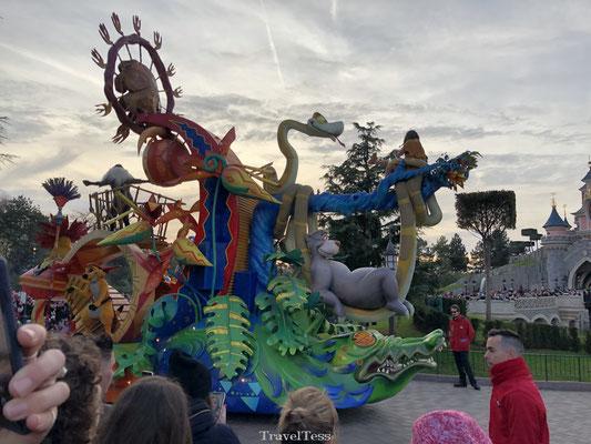 Disney parade in Disneyland Parijs
