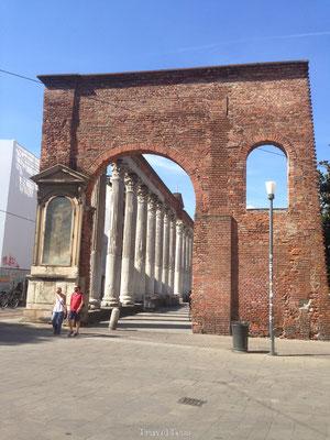 Poort in Milaan