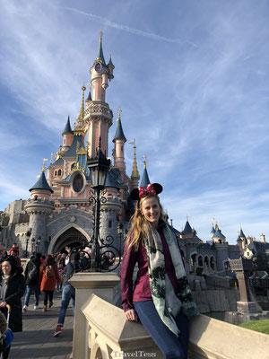 Disneyland Parijs foto Kasteel van Doornroosje