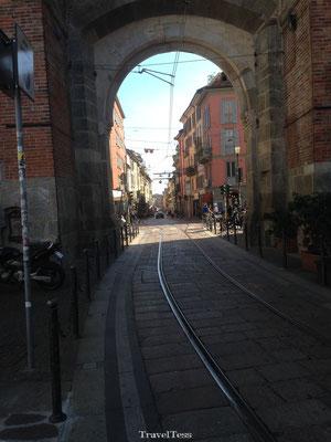 Tramspoor Milaan