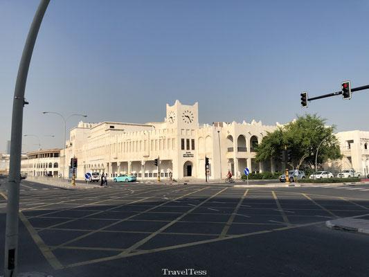 Openbare klok in Qatar