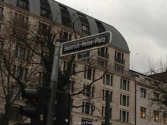 Heinrich Heine Platz Düsseldorf