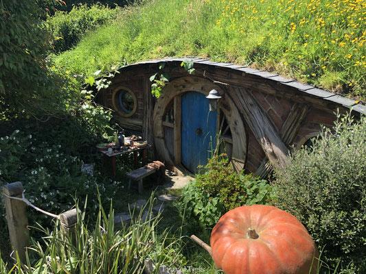 Hobbit huisje filmsets