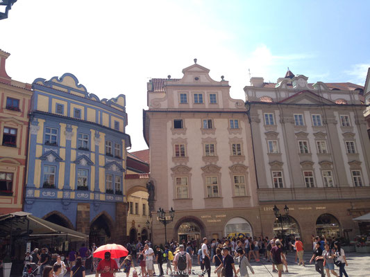 Stadsplein Praag