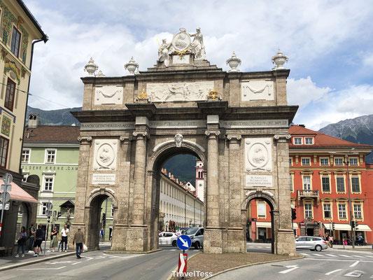 Triomfboog Innsbruck