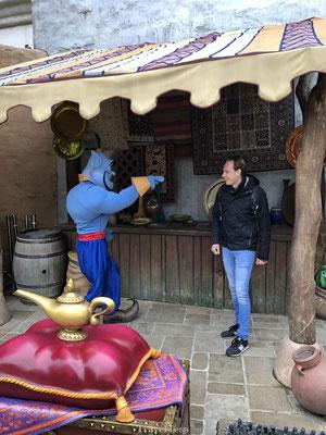 Ontmoeting met de Geest van Aladin