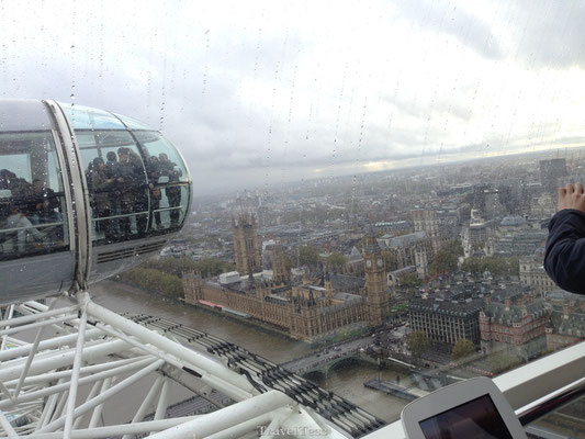 Ritje met London Eye