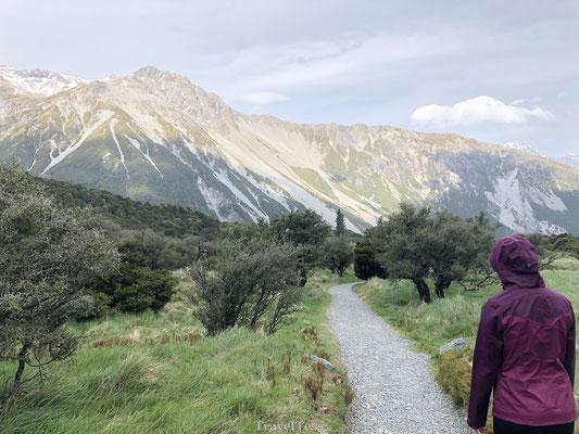 Kea Point Walk  Mount Cook National Park
