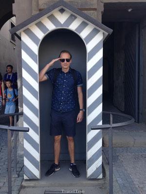 Bewaker Burcht vesting Praag