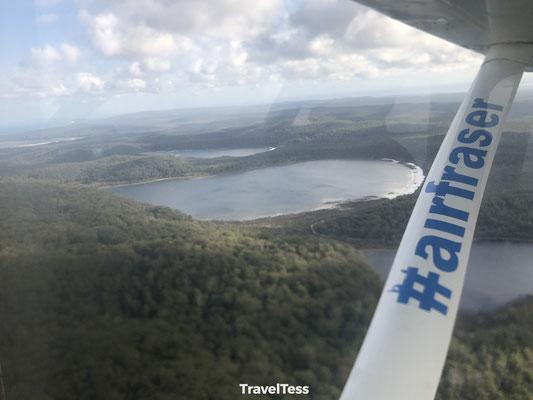 Fraser Island van boven