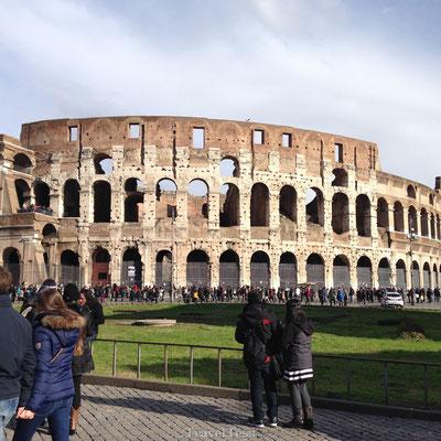 Colosseum buitenkant