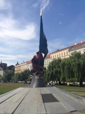 Oorlogsmonument Praag