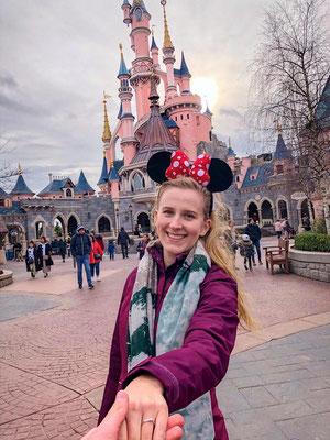 Verlovingsfoto Disneyland Parijs
