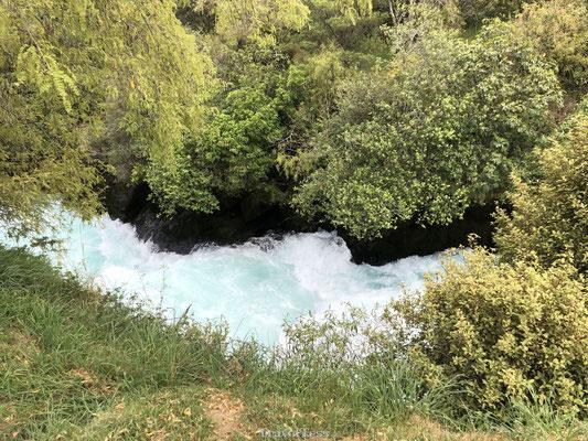 Stroming Huka Falls