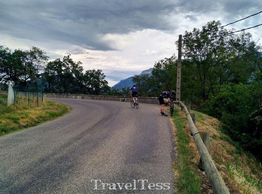 Wielrennen rondom Grenoble