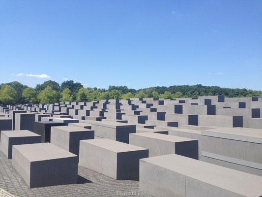 Monument voor de herdenking van de Jodenvervolging in Berlijn