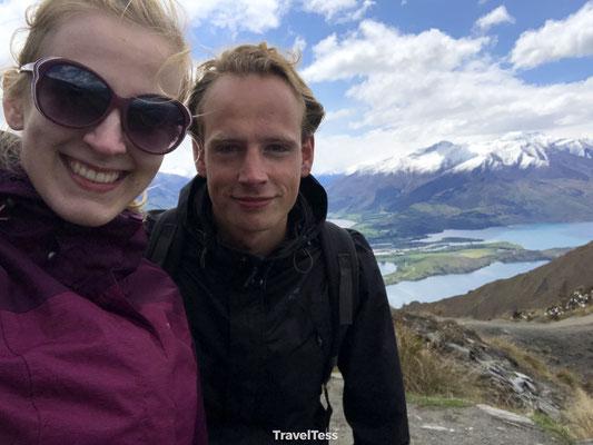 Roys Peak selfie