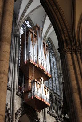 Orgels in de kerk van Keulen