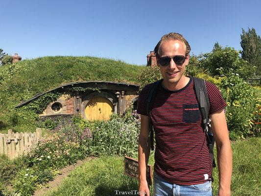Hobbit huisjes bezoeken