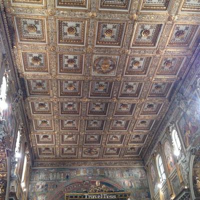 Vaticaans Museum gouden plafond