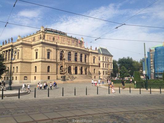 Stadsgebouw Praag
