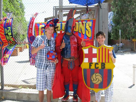 FC Barcelona mascotte