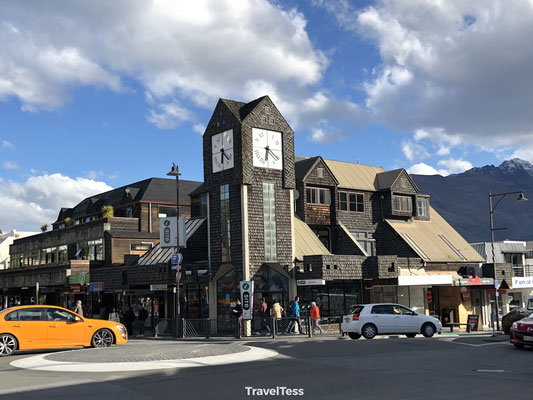 Straatbeeld Queenstown