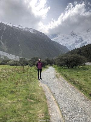 Hiken door Mount Cook