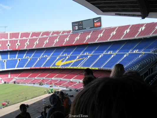 Stadiontour Camp Nou
