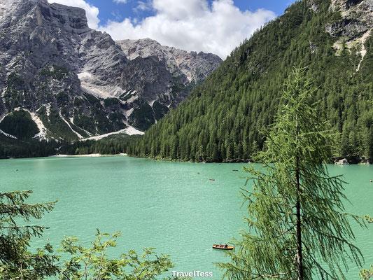 Lago Di Braies groen meer
