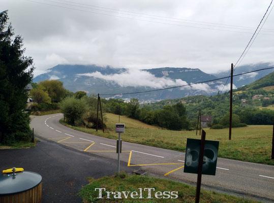 Fietsen door de bergen bij Grenoble