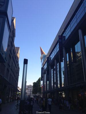 Winkelstraat Keulen