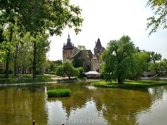 Városliget park kasteel