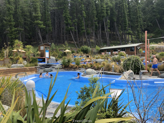 Tekapo Springs buitenzwembad
