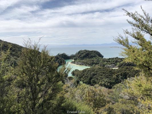 Meer in het Abel Tasman National Park
