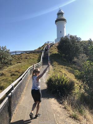 Hike naar Cape Byron Lighthouse