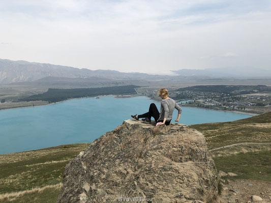 Uitzichtpunt Lake Tekapo
