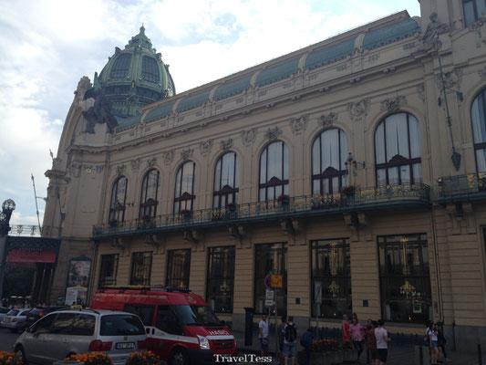 Winkelcentrum Praag