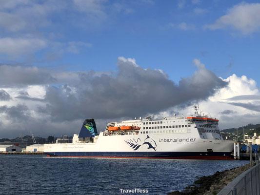 Interislander Ferry boot Nieuw-Zeeland