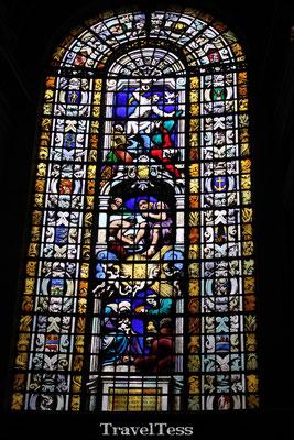 Glas in lood Koepel St. Pauls